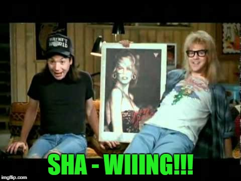 SHA - WIIING!!! | made w/ Imgflip meme maker