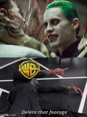 Remember the Joker deleted scenes outrage when SS came out? | image tagged in dc,warner bros,jared leto joker,black panther,suicide squad | made w/ Imgflip meme maker