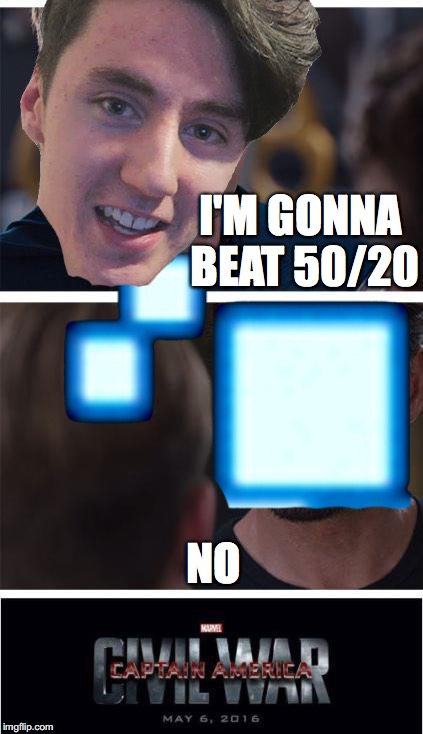 Dawko VS Scott | I'M GONNA BEAT 50/20 NO | image tagged in fnaf,scott,cawthon,dawko,freddy,bonnie | made w/ Imgflip meme maker