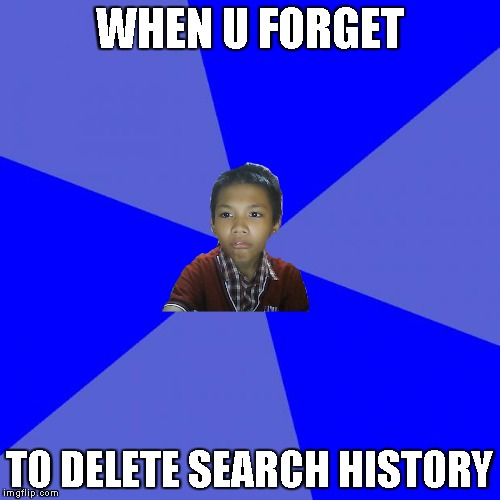 WHEN YOU FOGET TO DELETE SEARCH HISTORY | WHEN U FORGET TO DELETE SEARCH HISTORY | image tagged in meme,seach history,background,success kid,kid,kid meme | made w/ Imgflip meme maker