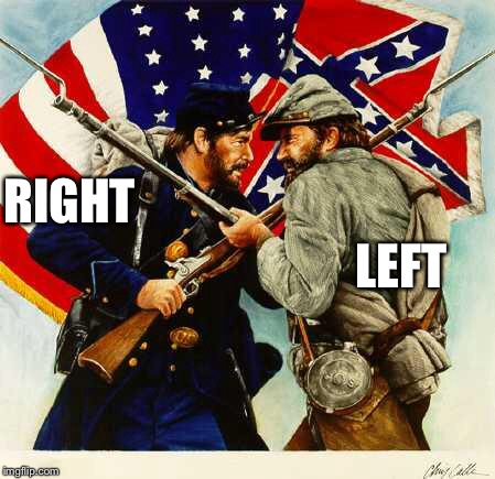 The Right will Win again !  | RIGHT LEFT | image tagged in civil war soldiers,bill of rights,memes,freedom | made w/ Imgflip meme maker