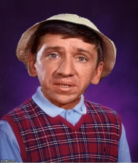 ''Bad Luck Gilligan'' Template for Gilligan's Island Week (From March 5th to 12th) A DrSarcasm Event | TEMPLATE FOR GILLIGAN'S ISLAND WEEK | image tagged in memes,gilligan bad pun,gilligan's island,bad luck gilligan,new template,drsarcasm | made w/ Imgflip meme maker