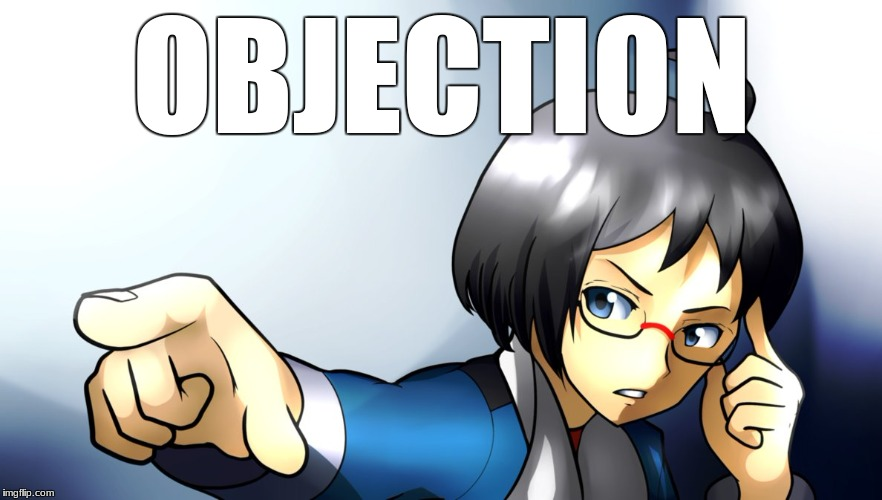 Ace Attorney Cheren  | OBJECTION | image tagged in objection,cheren,pokemon black and white | made w/ Imgflip meme maker