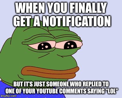 "If you're going to reply with something like ""lol"", ""ikr"", or ""yep"", just don't. It's stupid, pointless, and a waste of time. 