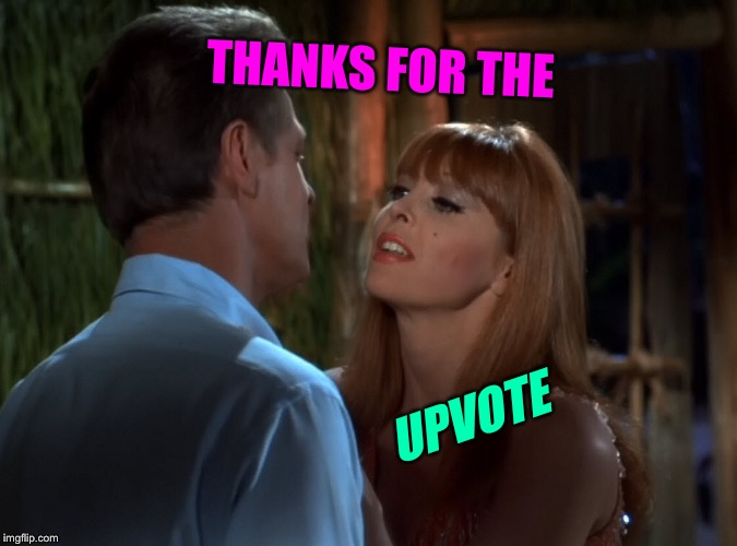 THANKS FOR THE UPVOTE | made w/ Imgflip meme maker