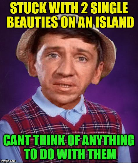 STUCK WITH 2 SINGLE BEAUTIES ON AN ISLAND CANT THINK OF ANYTHING TO DO WITH THEM | made w/ Imgflip meme maker