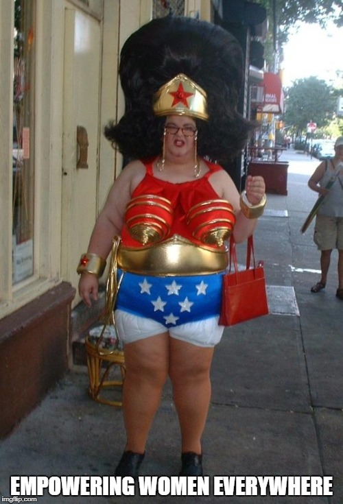Wonder Woman | EMPOWERING WOMEN EVERYWHERE | image tagged in wonder woman | made w/ Imgflip meme maker