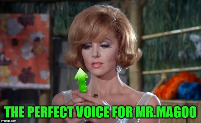 THE PERFECT VOICE FOR MR.MAGOO | made w/ Imgflip meme maker