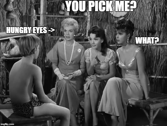 Maryann | YOU PICK ME? HUNGRY EYES -> WHAT? | image tagged in maryann | made w/ Imgflip meme maker
