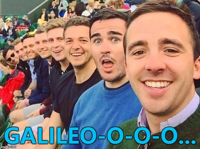 One pair of sunglasses between eight of them... :) | GALILEO-O-O-O... | image tagged in white dudes,memes,bohemian rhapsody,queen,music | made w/ Imgflip meme maker