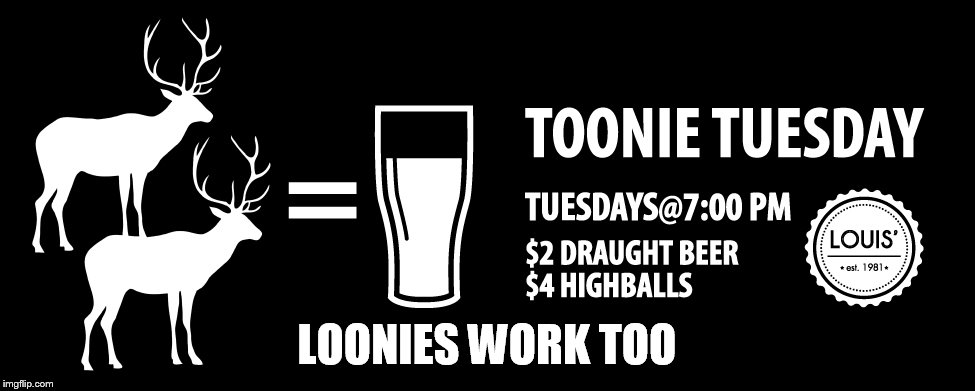 LOONIES WORK TOO | made w/ Imgflip meme maker