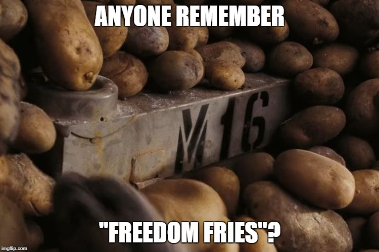 "Freedom Fries | ANYONE REMEMBER ""FREEDOM FRIES""? 
