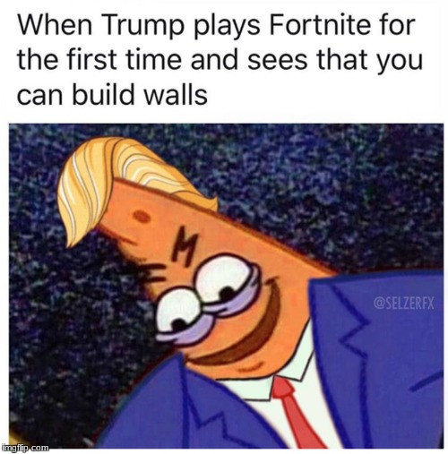 savage patrick (trump) | image tagged in funny | made w/ Imgflip meme maker
