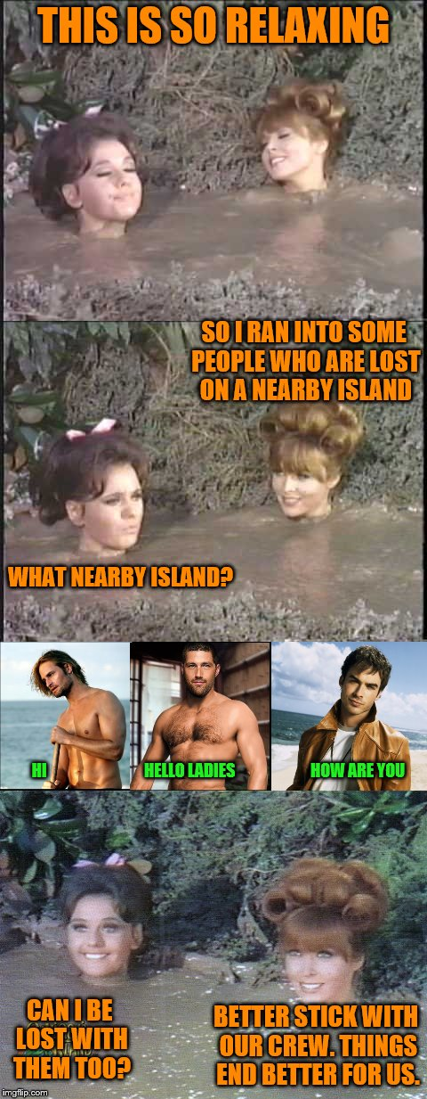 """Lost"" meets Gilligan's Island (Gilligan's Island Week (From March 5th to 12th) A DrSarcasm Event) 