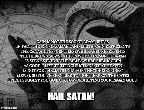 cain Memes & GIFs - Imgflip Lilith In The Bible