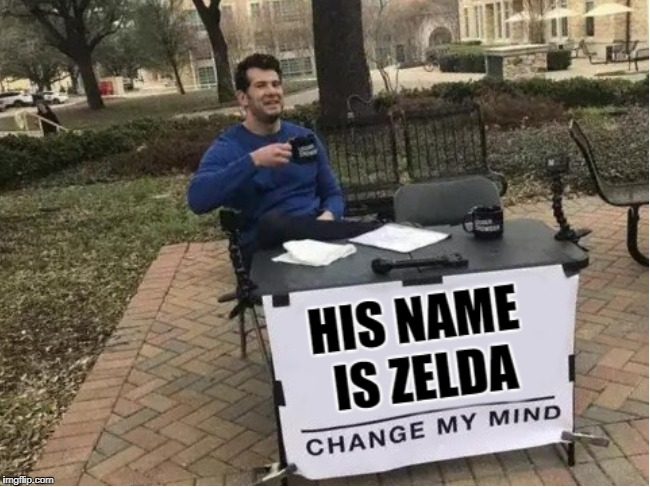 Sad to say, people like this exist | image tagged in zelda | made w/ Imgflip meme maker