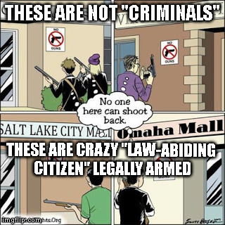 "Only if the law is with them | THESE ARE NOT ""CRIMINALS"" THESE ARE CRAZY ""LAW-ABIDING CITIZEN"" LEGALLY ARMED 
