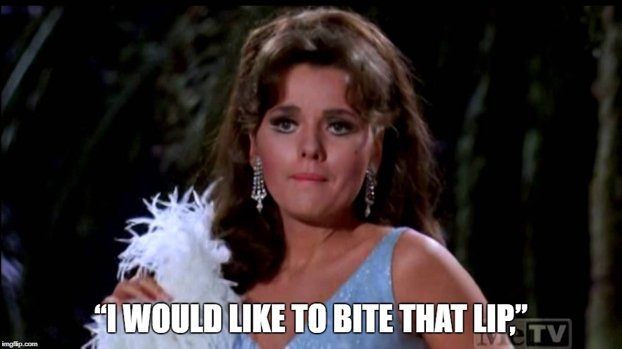 "Maryann | ""I WOULD LIKE TO BITE THAT LIP,"" 