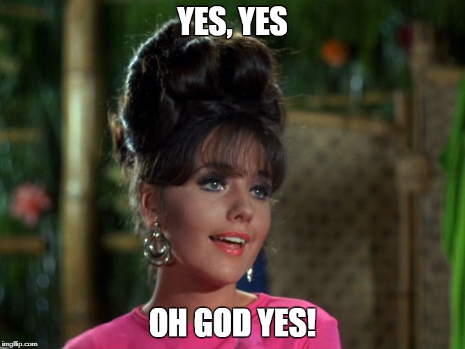 Maryann | YES, YES OH GOD YES! | image tagged in maryann | made w/ Imgflip meme maker
