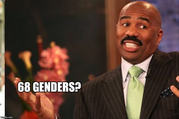 68 GENDERS? | made w/ Imgflip meme maker