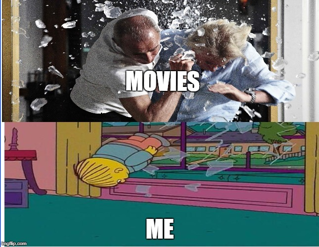 movies and me | MOVIES ME | image tagged in simpsons,movies | made w/ Imgflip meme maker