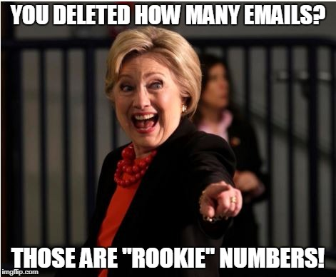 "Deleted Emails? | YOU DELETED HOW MANY EMAILS? THOSE ARE ""ROOKIE"" NUMBERS! 