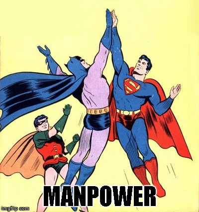 MANPOWER | made w/ Imgflip meme maker