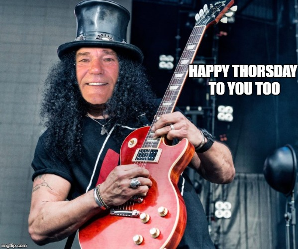 rocker coollew | HAPPY THORSDAY TO YOU TOO | image tagged in rocker coollew | made w/ Imgflip meme maker