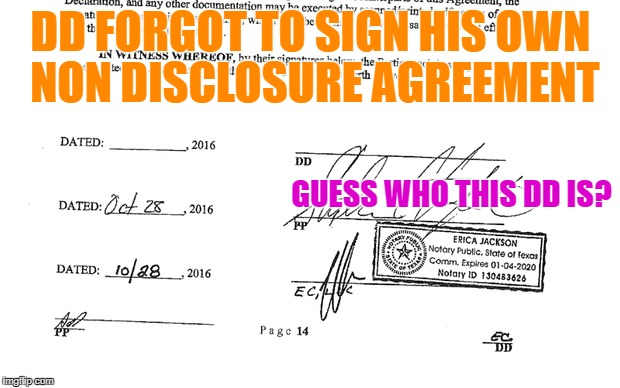Wonder who DD is who forgot to sign his own Non disclosure | DD FORGOT TO SIGN HIS OWN NON DISCLOSURE AGREEMENT GUESS WHO THIS DD IS? | image tagged in stormy daniels,trump,funny memes | made w/ Imgflip meme maker