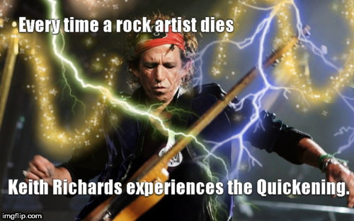 image tagged in keith richards,highlander,music week | made w/ Imgflip meme maker