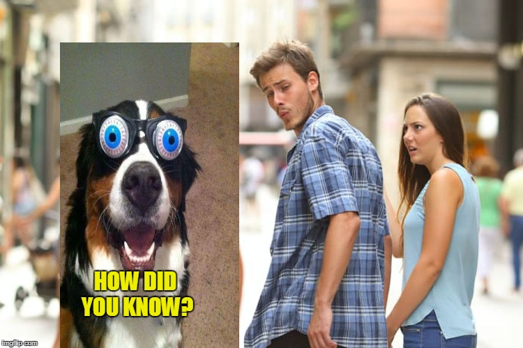 Distracted Boyfriend Meme | HOW DID YOU KNOW? | image tagged in memes,distracted boyfriend | made w/ Imgflip meme maker