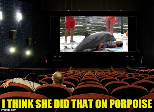 I THINK SHE DID THAT ON PORPOISE | made w/ Imgflip meme maker