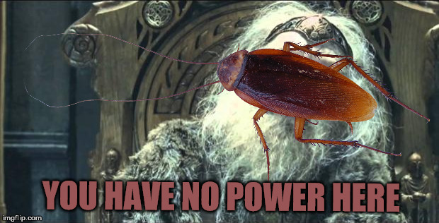 YOU HAVE NO POWER HERE | made w/ Imgflip meme maker