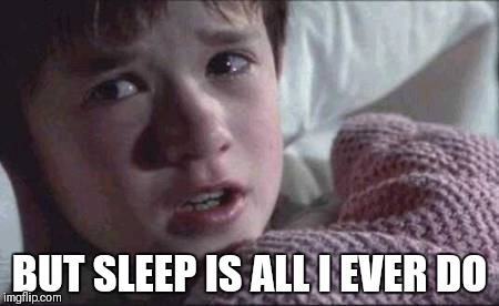 BUT SLEEP IS ALL I EVER DO | made w/ Imgflip meme maker