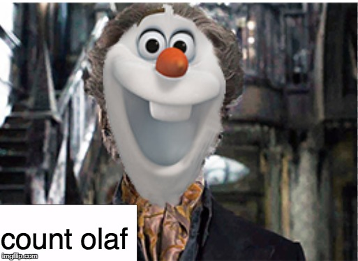 "is it bad that I read the ""A Series of Unfortunate Events"" books before watching Frozen? 