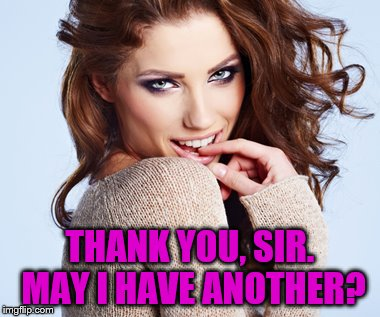 THANK YOU, SIR. MAY I HAVE ANOTHER? | made w/ Imgflip meme maker