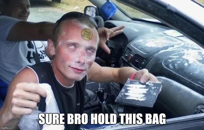 SURE BRO HOLD THIS BAG | made w/ Imgflip meme maker