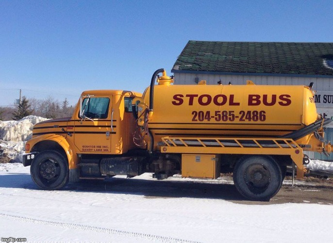 I see what they did there  | NO TEXT NEEDED | image tagged in funny,school bus,poop,i see what you did there,memes | made w/ Imgflip meme maker