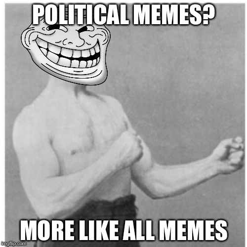 POLITICAL MEMES? MORE LIKE ALL MEMES | made w/ Imgflip meme maker