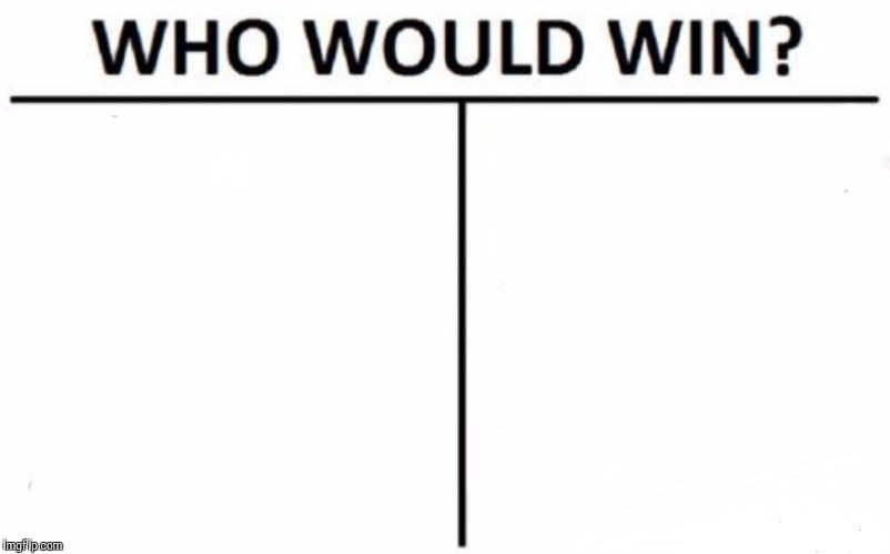 Who Would Win? Meme | W | image tagged in memes,who would win | made w/ Imgflip meme maker