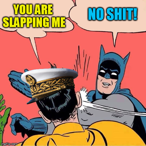 YOU ARE SLAPPING ME NO SHIT! | made w/ Imgflip meme maker