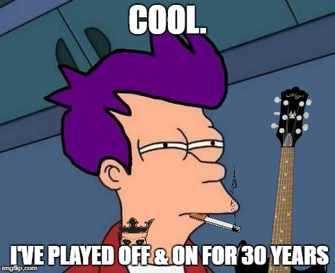 COOL. I'VE PLAYED OFF & ON FOR 30 YEARS | made w/ Imgflip meme maker