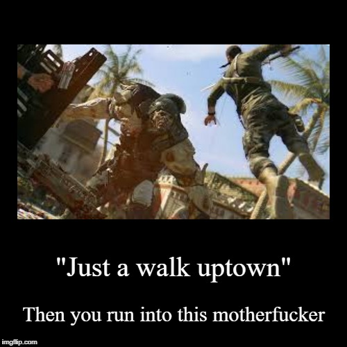 """Just a walk uptown"" 