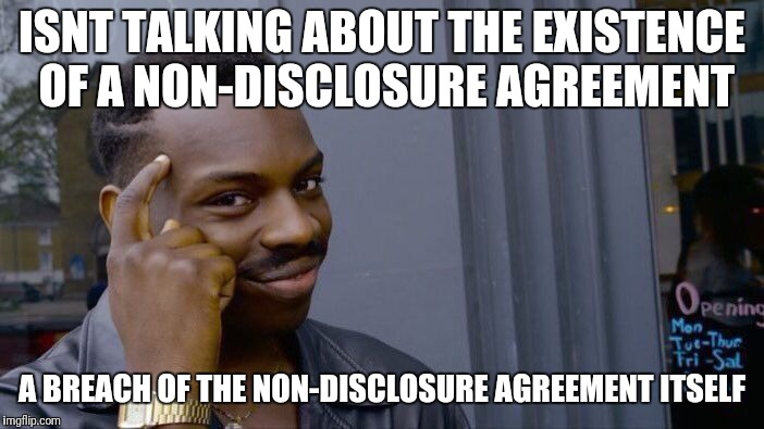 Stormy non disclosure | ISNT TALKING ABOUT THE EXISTENCE OF A NON-DISCLOSURE AGREEMENT A BREACH OF THE NON-DISCLOSURE AGREEMENT ITSELF | image tagged in trump,stormy daniels,fake news,president | made w/ Imgflip meme maker