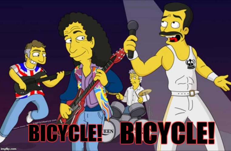 BICYCLE! BICYCLE! | made w/ Imgflip meme maker