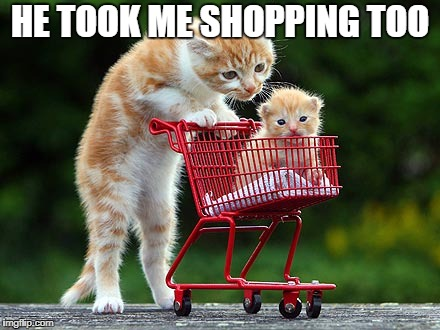 HE TOOK ME SHOPPING TOO | made w/ Imgflip meme maker