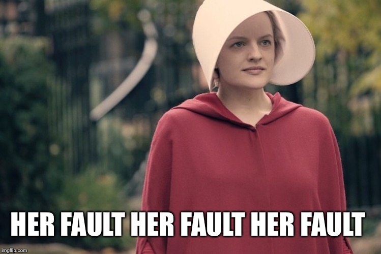 HER FAULT HER FAULT HER FAULT | made w/ Imgflip meme maker