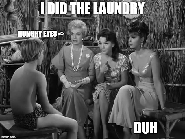 Maryann | I DID THE LAUNDRY DUH HUNGRY EYES -> | image tagged in maryann | made w/ Imgflip meme maker