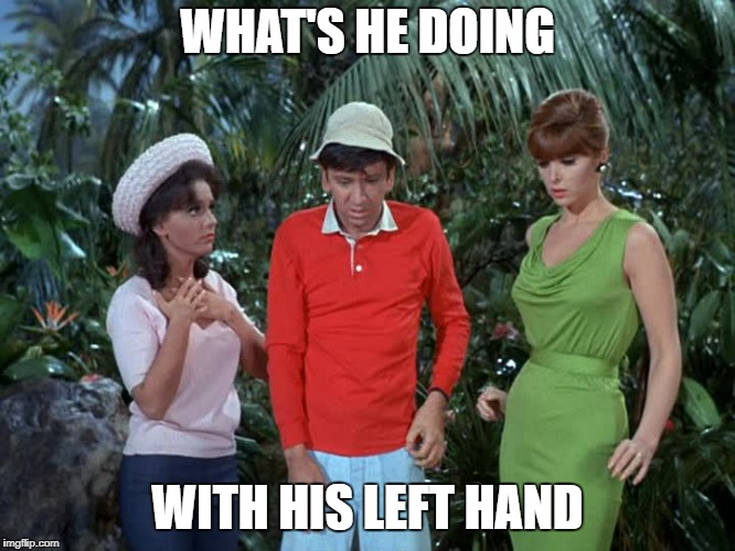 circle game | WHAT'S HE DOING WITH HIS LEFT HAND | image tagged in circle game | made w/ Imgflip meme maker