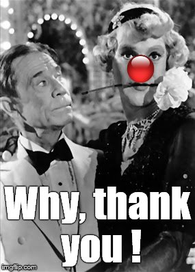 tango | Why, thank you ! | image tagged in tango | made w/ Imgflip meme maker